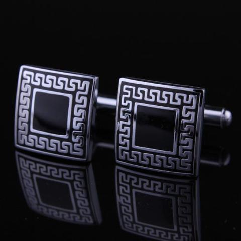 Manžetové gombíky - antický znak - štvorec - 1
