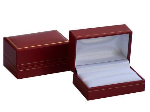 Box na manžetové gombíky červená