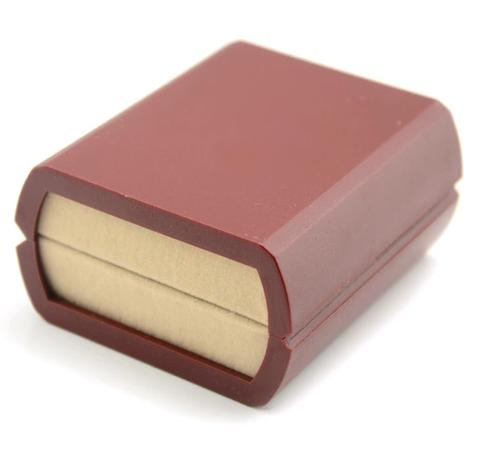 Krabička pre manžetové gombíky červená - 2