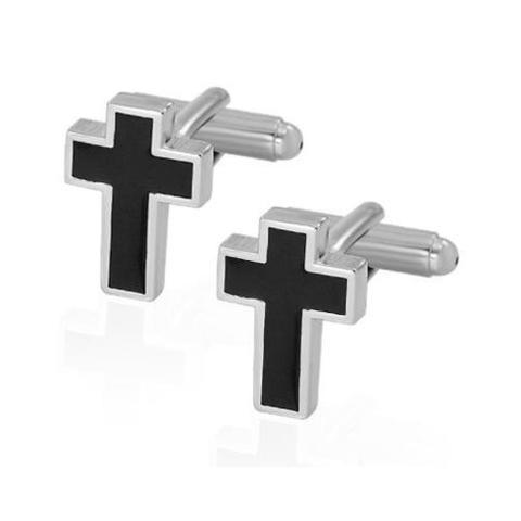 Manžetové gombíky kresťanský kríž - 2