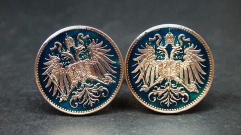 Manžetové gombíky Štátny znak Rakúska - 2