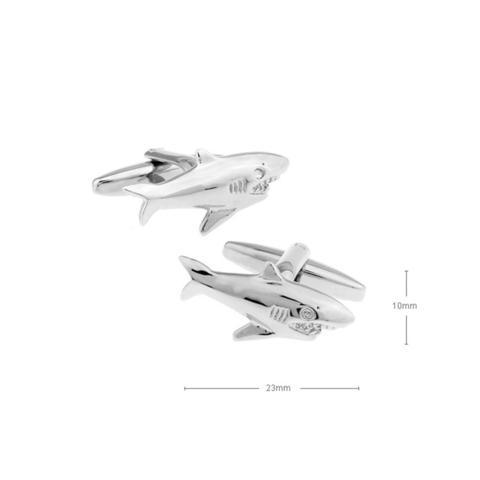 Manžetové gombíky žralok - 2