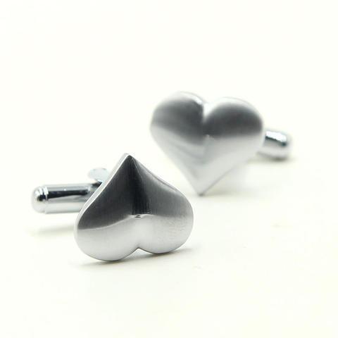 Manžetové gombíky valentínske srdce - 2