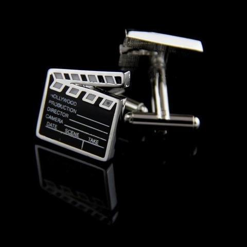 Manžetové gombíky filmová klapka - 2