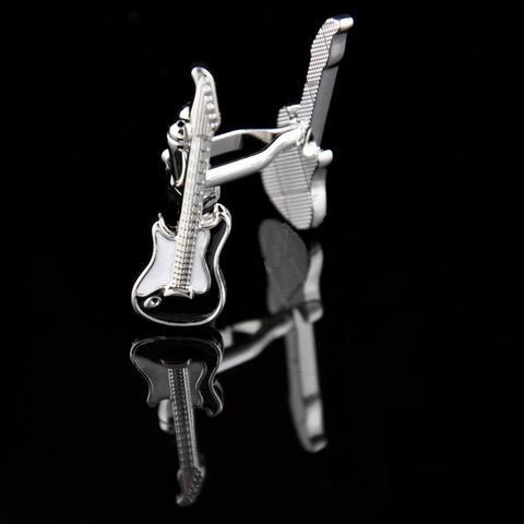 Manžetové gombíky + prívesok gitara - 2