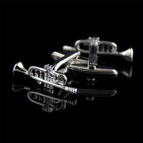 Manžetové gombíky jazzové rúrky - 2