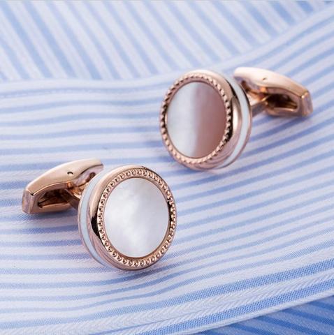 Manžetové gombíky perleť - 2