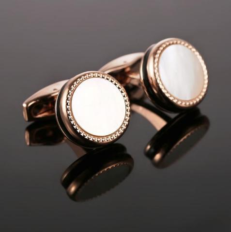 Manžetové gombíky perleť black - 2