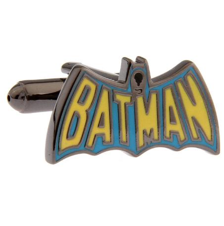Manžetové gombíky Batman farebné logo - 2