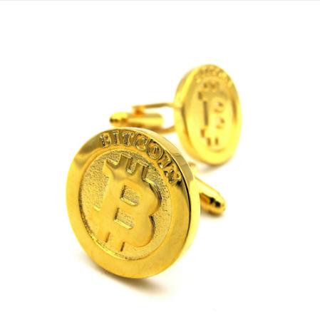 Manžetové gombíky Bitcoin - 2