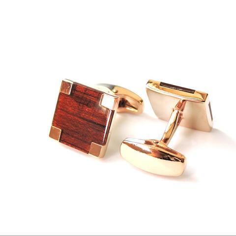 Manžetové gombíky wood - 2