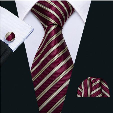 Manžetové knoflíčky s kravatou Peithó - 2