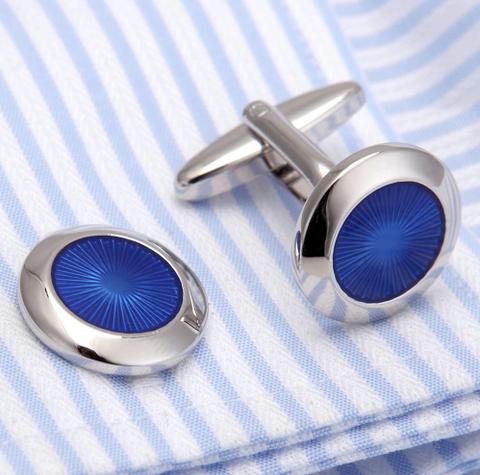 Manžetové gombíky modrá túžba - 2