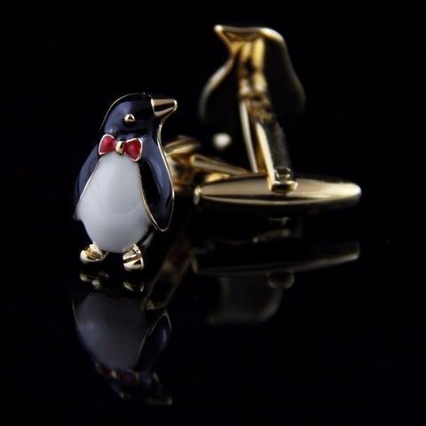 Manžetové gombíky tučniak s motýlikom - 2