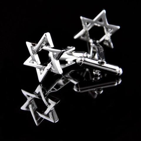 Manžetové gombíky židovská hviezda - 2