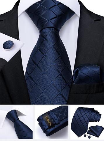 Manžetové gombíky s kravatou Eris - 2
