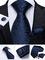 Manžetové gombíky s kravatou Eris - 2/2