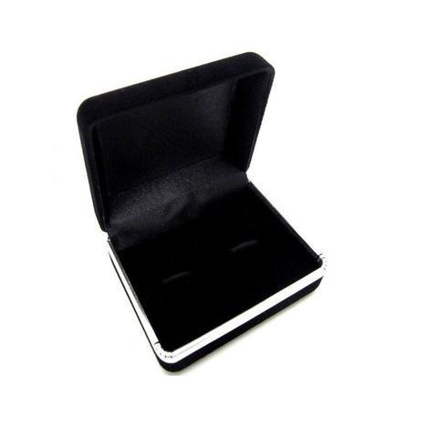 Krabička pre manžetové gombíky - semiš - 3