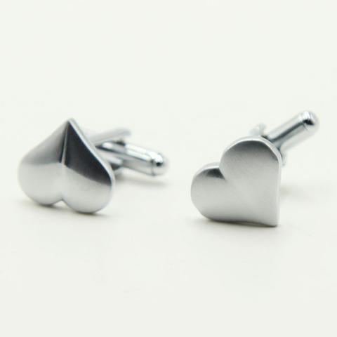 Manžetové gombíky valentínske srdce - 3