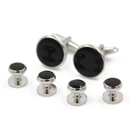 Manžetové gombíky complete silver - 3