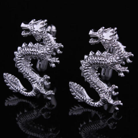 Manžetové gombíky čínsky drak - 3