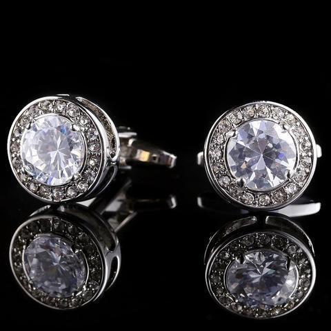 Manžetové gombíky diamant - 3