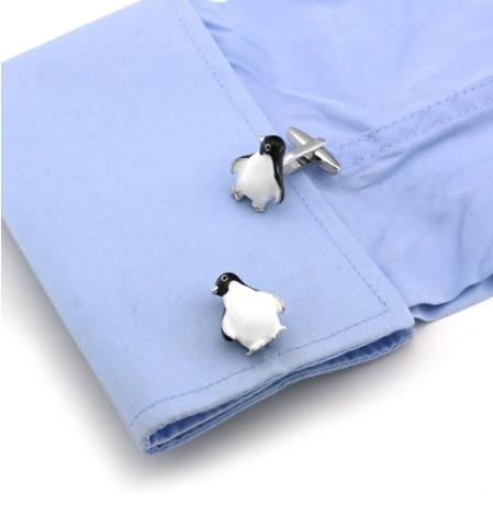 Manžetové gombíky tučňáček - 3