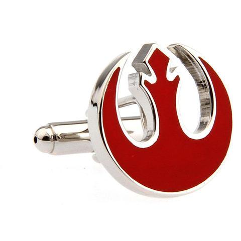 Manžetové gombíky Star Wars rebel alliance červené - 4