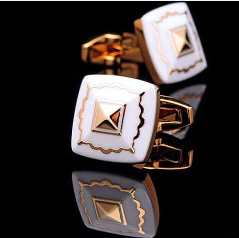 Manžetové gombíky Egypt pyramída - 5