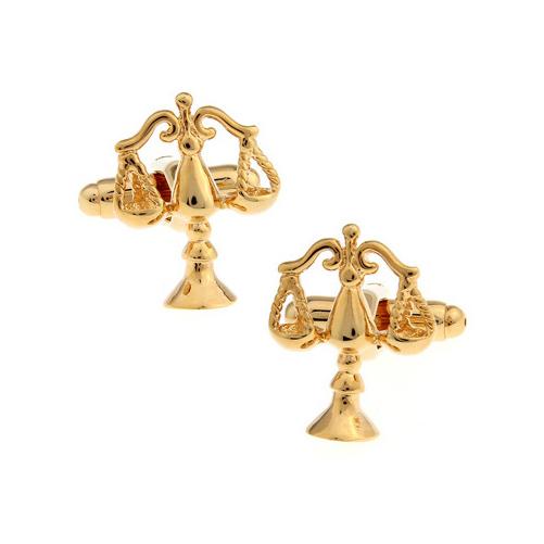 4a2950569109 Manžetové gombíky - Manžetové gombíky zlaté váhy - Manzetove-Gombicky.SK